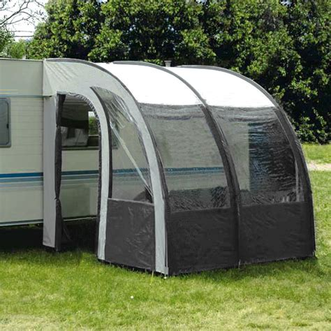 lightweight porch awning 260cm l lightweight caravan porch awning waterproof dark