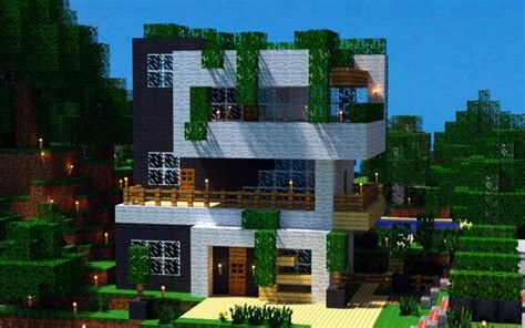 25 awesome exles of modern house best 25 minecraft houses ideas on pinterest minecraft