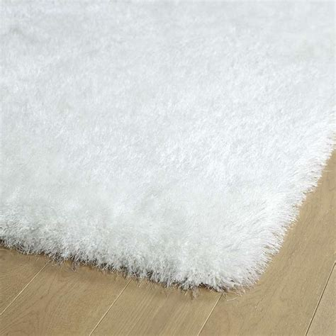 White Shag Area Rug by Kaleen Rugs Posh Shag Psh01 76 White Area Rug Carpetmart