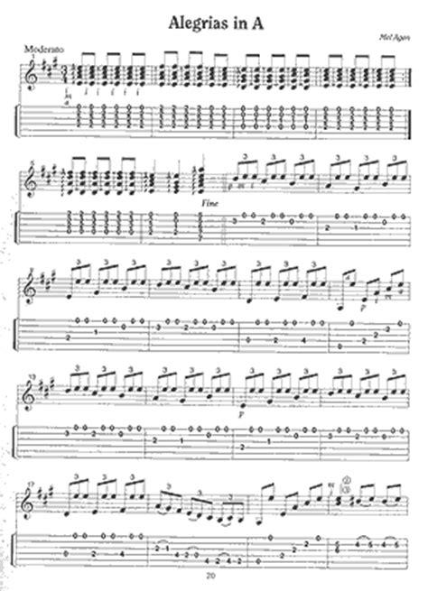 Buku Gitar Flamenco 13 Easy Flamenco Solos easy flamenco solos mel agen 187 gitarrennoten mit cd