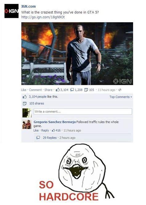 Funny Gta 5 Memes - gta 5 hardcore gamer www meme lol com funny gifs