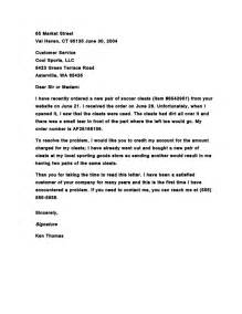 how to write a complaint letter to a business cover