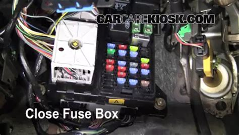 07 mustang fuse box location wiring diagram