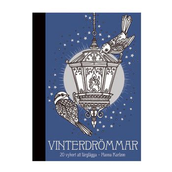 winter dreams 20 postcards 142364560x vinterdrommar postcards to color in coloring queen