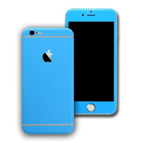 Iphone 6 Plus 6s Plus 6 Baby Skin 360 Slim Matte Soft Touch Iphone 6s Blue Matt Skin Wrap Decal Easyskinz