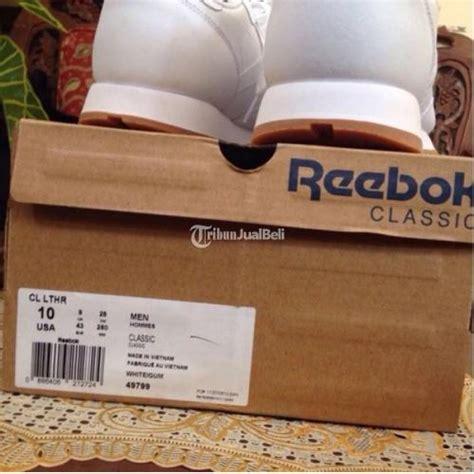 Harga Jam Reebok Classic sepatu reebok leather classic run putih ori size