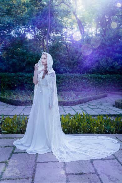braut cape ivory white bridal cloak white ivory lace vintage cape by