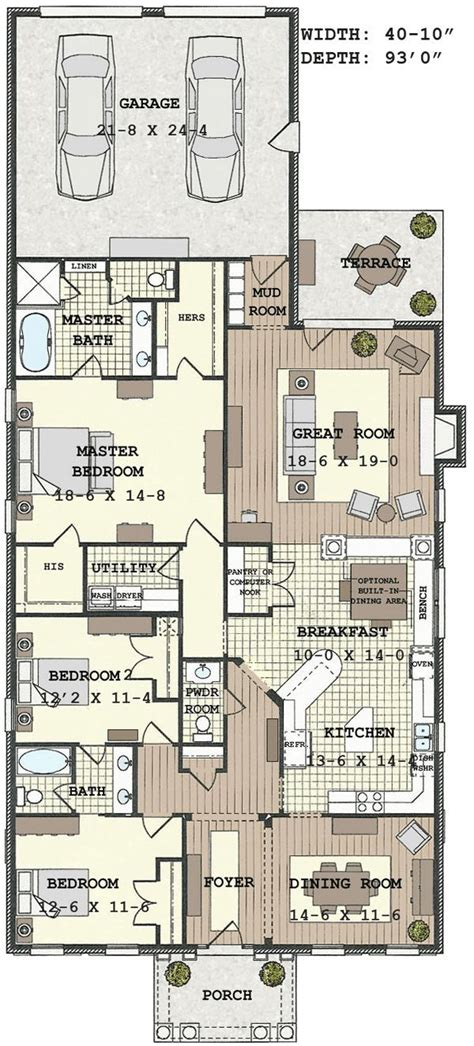 Tyny Houses by Floor Plan Source Exellent 10 Bedroom House Plans 4 2