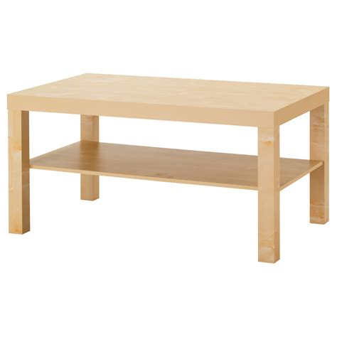 idea coffee table lack coffee table birch effect 90x55 cm ikea