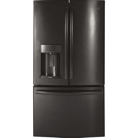 ge 27 8 cu ft french door refrigerator in slate shop ge profile 27 8 cu ft french door refrigerator with
