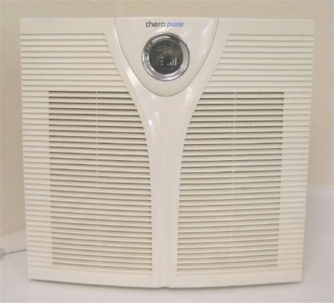 ionic pro therapure tppd home room air purifier  uv light ion filter cleaner