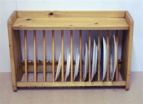 Plate Rack by Pine Plate Rack 163 38 00 Picclick Uk