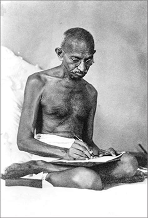 biography of mahatma gandhi tagalog influence chions of nonviolence magazine web edition