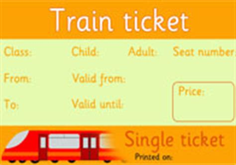 printable train tickets uk planned engineering works role play poster free early