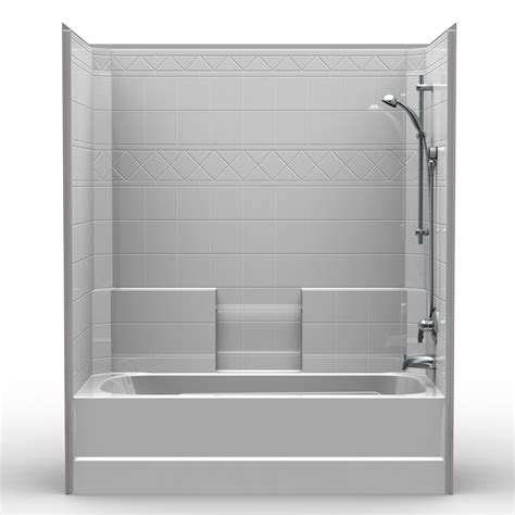 bathroom and combo single piece tub shower 60 quot x 32 quot x 72 quot shower tub combo