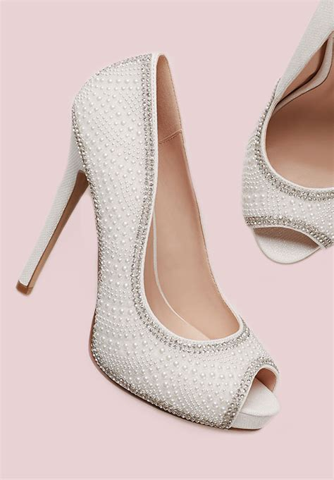 Where To Shop For Bridal Shoes wedding shoe ideas for the david s bridal