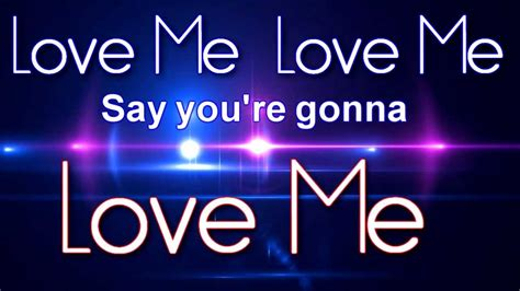 images of love me big time rush love me love me lyric video youtube