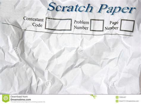 Scratch Paper - scratch paper royalty free stock photography image 13355457