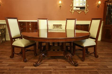 Circular Dining Room Tables Large Dining Room Tables Mahogany Dining Table Formal Circle