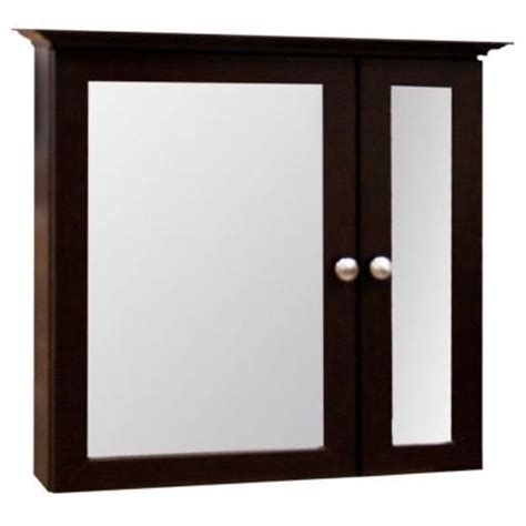 home depot bathroom medicine cabinet glacier bay 25 in x 24 in bi view surface mount medicine