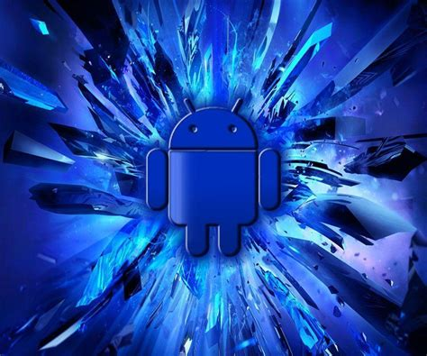 blue android blue android wallpapers wallpaper cave