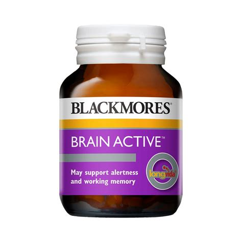Blackmores Brain Active 30 Caps brain active memory mental clarity nz health 2000