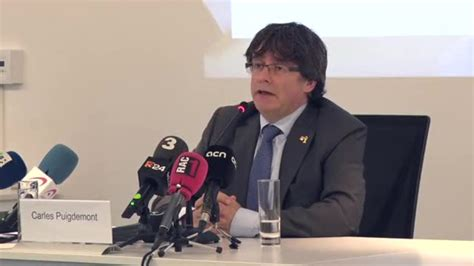 puigdemont hasselt puigdemont dice que solo quot los ciudadanos quot pueden pedirle