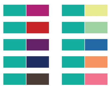 2 color combinations images of colour combination selection photo gallery