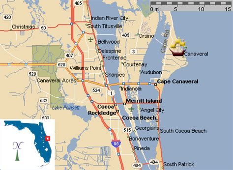 port canaveral map florida portcanaveral gif