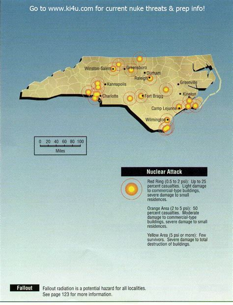 shelters in nc nuclear war fallout shelter survival info for carolina with fema target maps