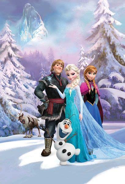 anna und elsa film teil 2 fotomural w2pl frozen 001 mural infantil con los