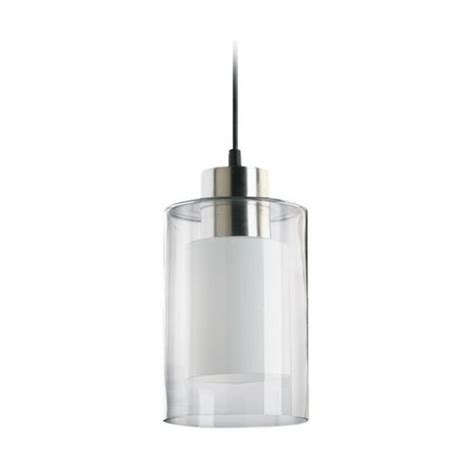 contemporary mini pendant lighting kitchen modern mini pendant light with double cylinder glass