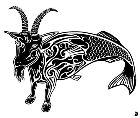 tribal capricorn symbol tattoo capricorn images designs