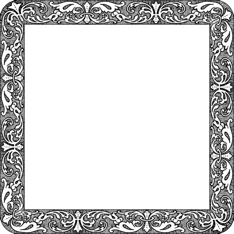 vintage square frame square frame vinyl designs svg pictures to pin on pinsdaddy
