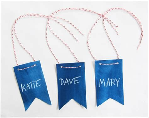 How To Make A Paper Name Tag - 23 diy name tags diy to make