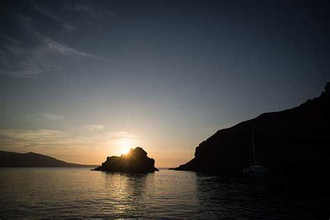 catamaran cruise with sunset santorini i went sailing in santorini sunset oia boat cruise greek