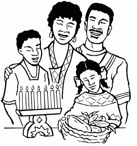 coloring pages of joint family kwanzaa coloring page az coloring pages