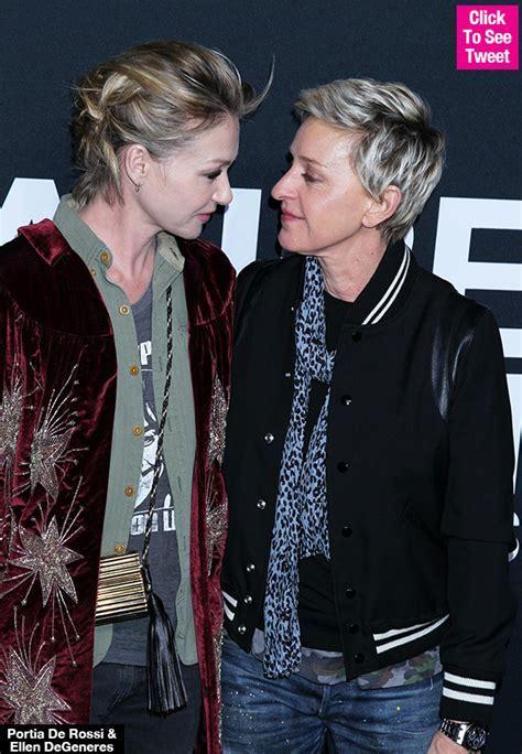 Portia de Rossi & Ellen DeGeneres? Anniversary ? See Ellen