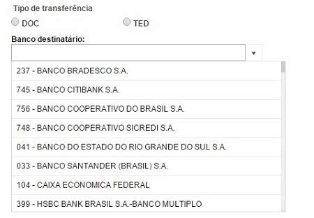 codigo de banco compe e ispb qual usar para ted conta em banco