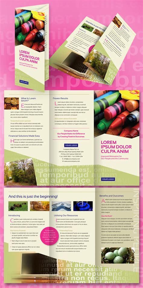 Design Mockup Español | brochure mock up