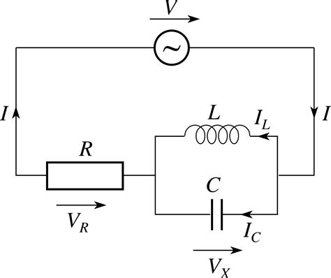 capacitor resistor inductor circuit pplato flap phys 5 4 ac circuits and electrical oscillations