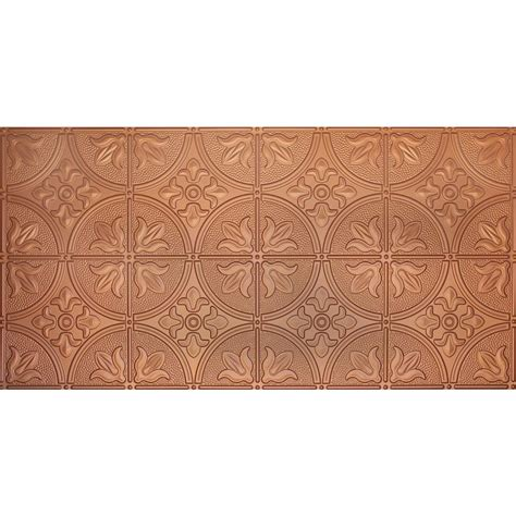 Copper Ceiling Tiles Home Depot by Global Specialty Products Dimensions Faux 2 Ft X 4 Ft