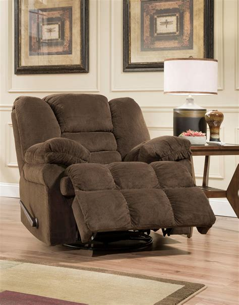 dynasty upholstery and furniture center simmons simmons dynasty chocolate swivel glider recliner