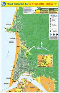 oregon tsunami evacuation maps tsunami zones lincoln county news lincoln county