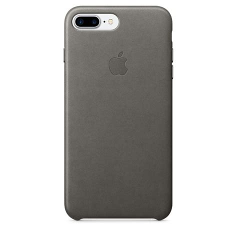 iphone 7 plus leather gray apple