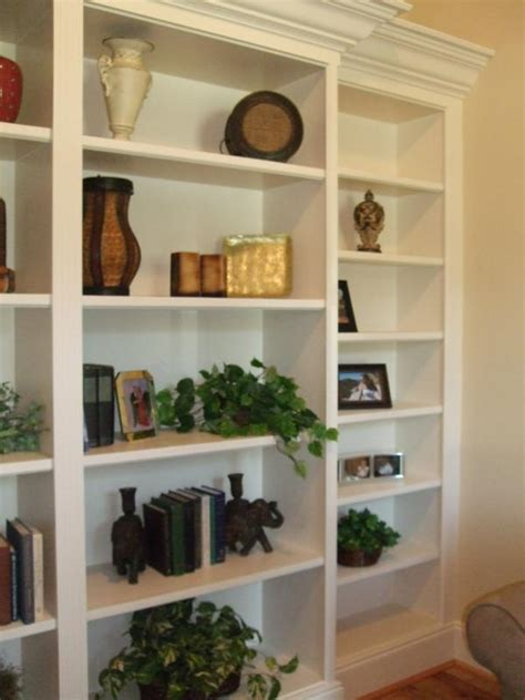 built in bookshelf decorating ideas