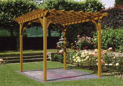 Pergola Plans Woodworker Magazine Wood Pergola Designs