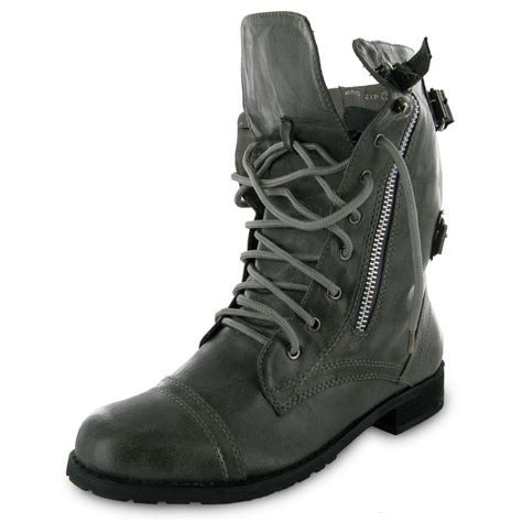 new army boots new grey army combat boots size 8 ebay