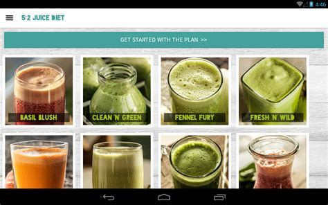2 Weeks Juice Detox by Jason Vale S 5 2 Juice Diet Android Apps On Play