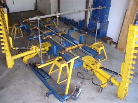 car o liner bench rack for sale buy car o liner frame straightening rack autobody mark 4